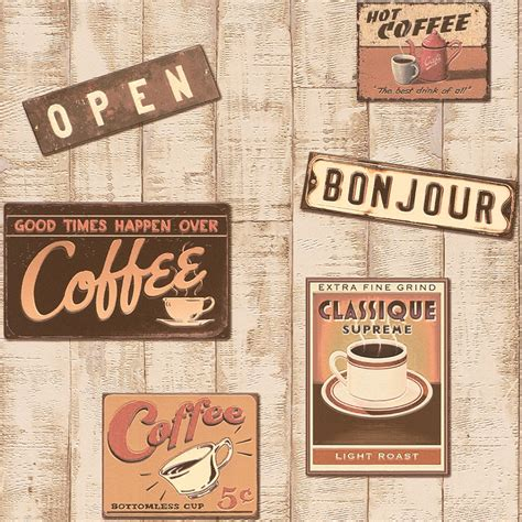 Coffee Retro Wallpaper | vintage coffee shop wallpaper www pixshark com images