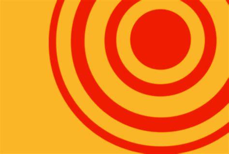 Mainan Target Dart ilustrasi gratis target titik merah concentrico