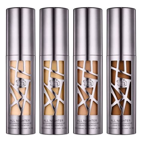 Decay Foundation decay all nighter liquid foundation