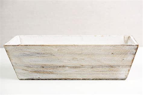 White Planter Box by White Tapered 4x12 Planter Boxes Wood