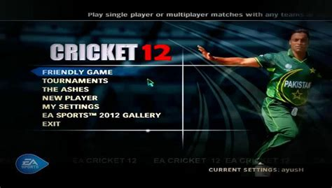 cricket player manager full version download the ea sports cricket 2007 2011 2013 and 2014 download