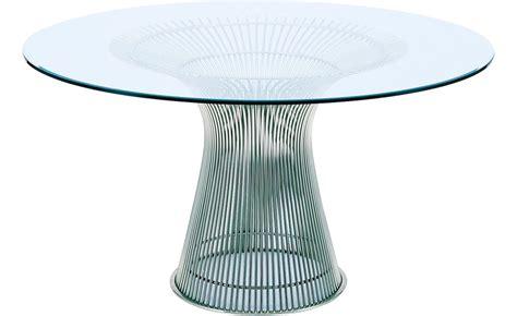 Platner Nickel Dining Table hivemodern.com