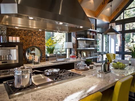 commercial kitchen backsplash metal backsplashes hgtv