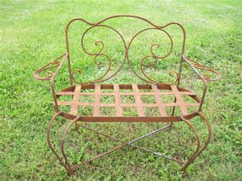 wrought iron loveseat bench wrought iron loveseat bench 28 images vintage mid