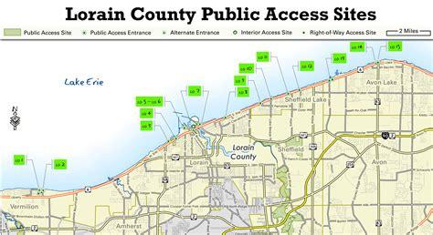 Lorain County Records Ohio Dnr Lake Erie Access Guide Lorain County