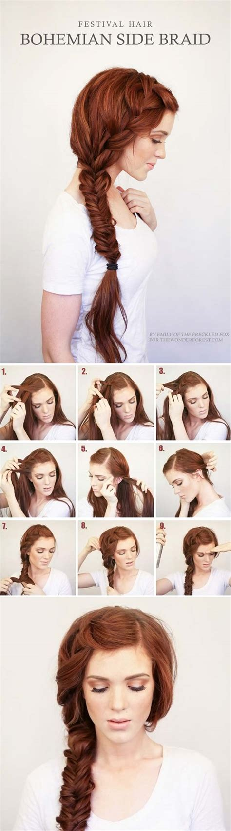 easy hairstyles for school no braids 40 of the best hair braiding tutorials diy projects
