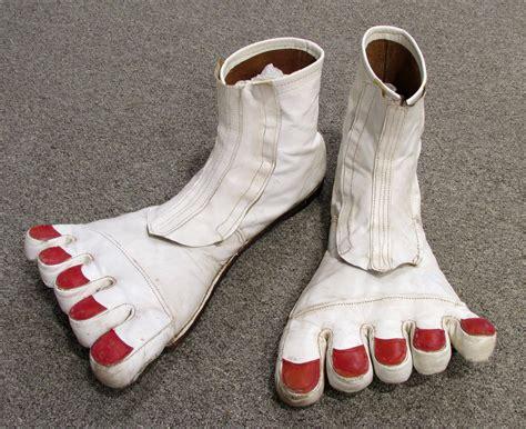 barefeet shoes big bare vintage clown shoes at 1stdibs
