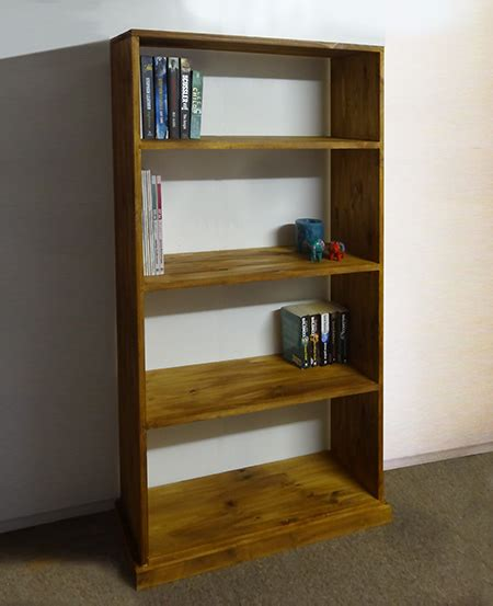 home dzine home diy basic bookshelf with no visible