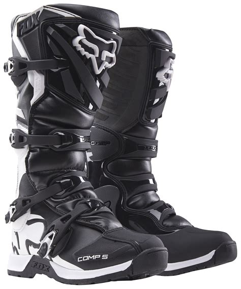 fox comp 5 motocross boots fox racing comp5 boots black jpg
