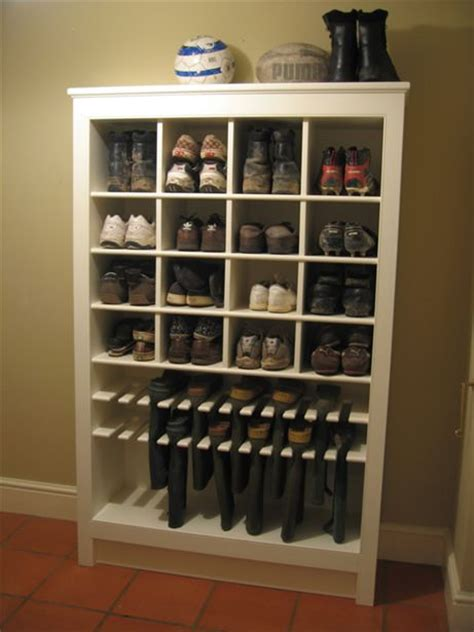 shoe and boot storage ideas 55 boot organizer storage white wall boot rack plans