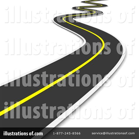 Royalty Free Rf Road Clipart Illustrations Vector | road clip art free clipart panda free clipart images