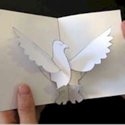 Pop Up Bird Card Template by Pop Up Eagle
