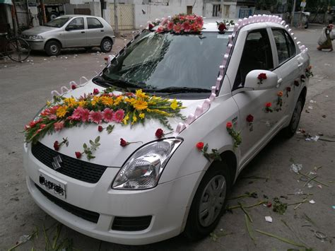 Decorate Wedding Car With Pink Flowers by Car Decoration For Wedding In Some Ways Resolve40