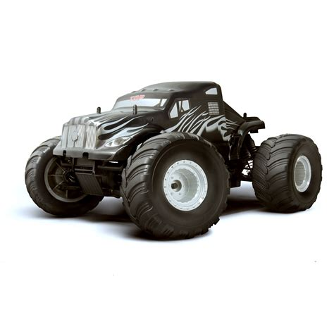 hsp nitro monster truck hsp top monster truck silver flame rc truck at hobby warehouse