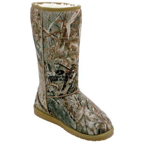 mossy oak boots s 13 quot dawgs 174 mossy oak 174 australian style boots