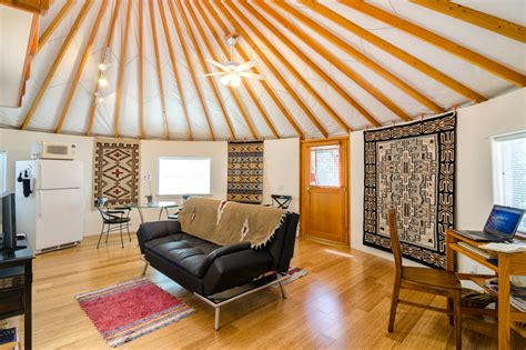 Yurt Home Floor Plans by Pimp My Yurt Interior Design For Round Spaces