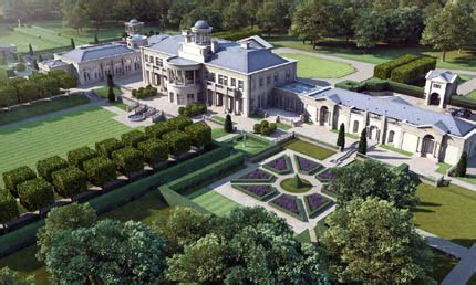 proposed  square foot estate  surrey england