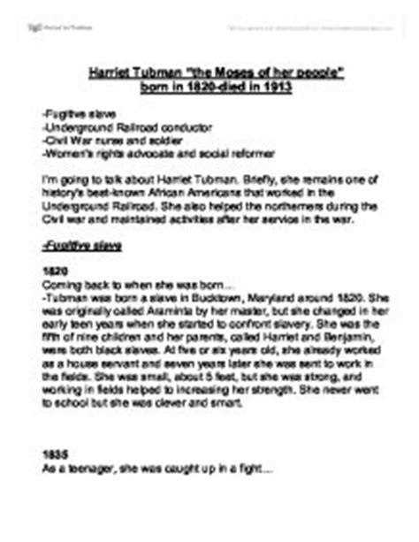 Harriet Tubman Essay by College Essays College Application Essays Harriet Tubman Research Paper
