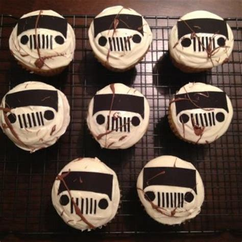 jeep cupcake jeep cupcakes cake ideas and designs