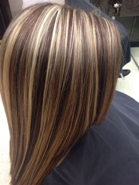 short hairstyles with chunky color foils amazing multi colored highlights the haircut web