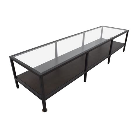 30 Off Ikea Ikea Metal Glass Coffee Table Media Unit Ikea Coffee Table Glass