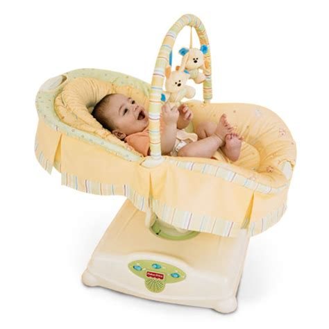 fisher price swing glider fisher price j1314 soothing motions glider swing ebay