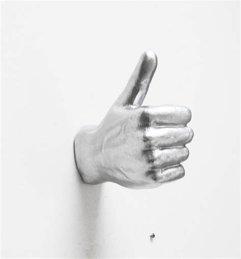 hand wall hook silver hand wall hook cool stuff to buy online