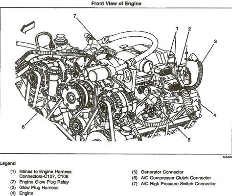 lb7 duramax engine diagram engine wiring lbz duramax engine parts diagram on lly