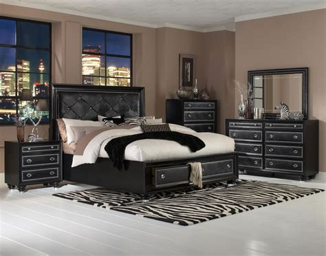 black bedroom furniture for the sense amaza design