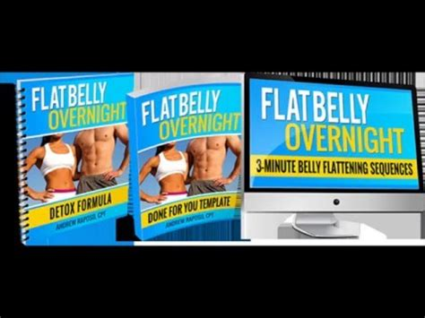 The Flat Belly Detox Formula by Flat Belly Overnight Review Read It Before