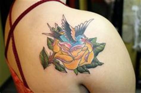 pete rose tattoo tattoos on swan yellow roses and