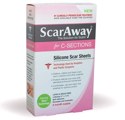 scaraway c section scar treatment strips scaraway silicone scar sheets