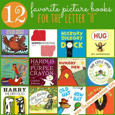 Letter Book the measured 12 favorite picture books for letter h