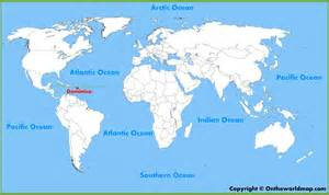 dominica on world map dominica location on the world map