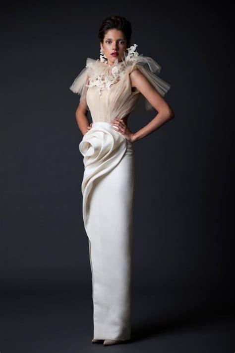 Wedding Gowns Couture by Krikor Jabotian Tzuri Gueta