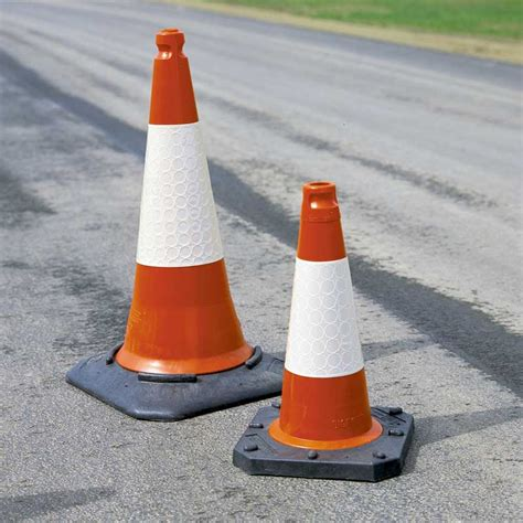 Traffic Cone 75cm traffic cone 75cm tc3 sand weighted reflective sleeve