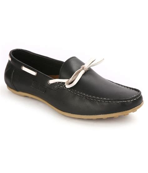 loafer black seeandwear black leather loafers price in india buy