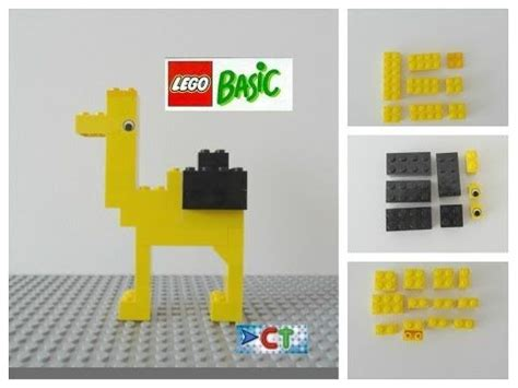 lego dog tutorial lego easy tutorial how to build camel animals lego basic