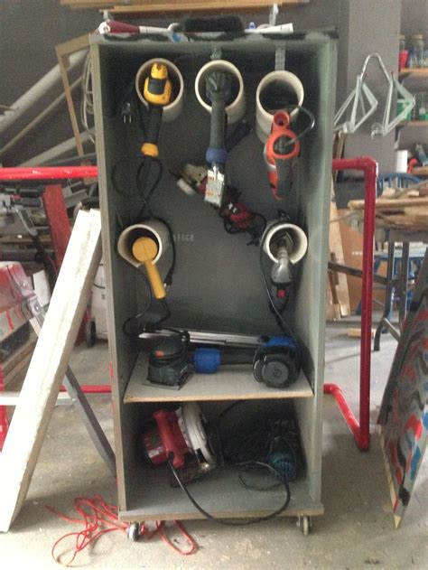 power tool storage 28 best images about corded power tool storage on pinterest