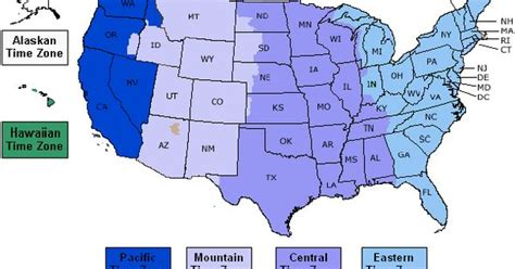 us area code time zone 714 click on map to learn about best times to call in usa with