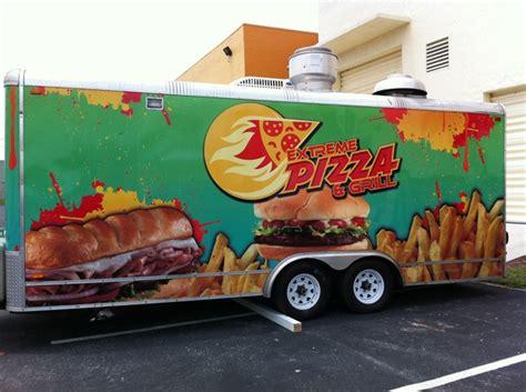 pizza food truck design extreme pizza grill food truck wrap brandmebro
