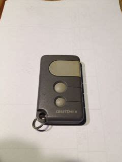 Craftsman 315 Garage Door Opener Remote Control Hbw2028 On Craftsman Garage Door Opener Remote Troubleshooting