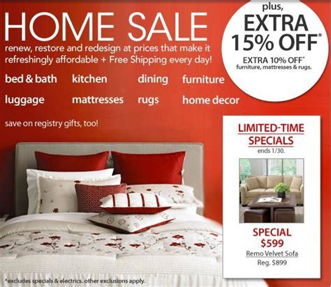 macy s home sale save big on home items free shipping