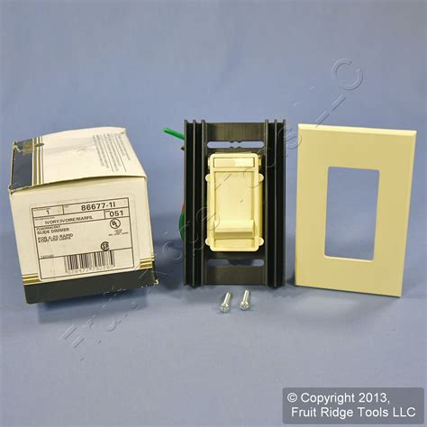 dimmer switch for fluorescent lights leviton fluorescent ivory slide light dimmer switch 120v 4