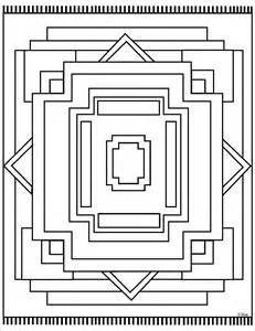 geometric coloring pages mac place