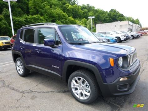 jeep 2016 blue 2016 jetset blue jeep renegade latitude 4x4 113615055