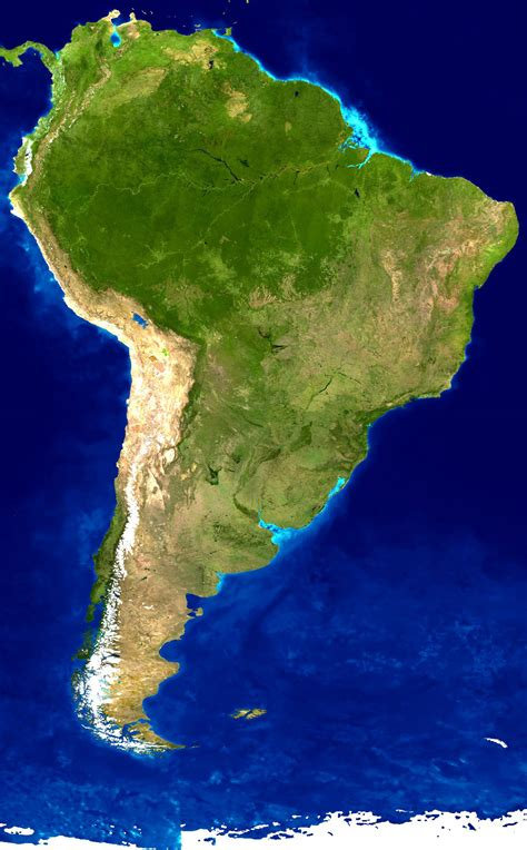 america map satellite detailed satellite map of south america south america