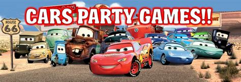 cars themed birthday games disney cars party games ideas