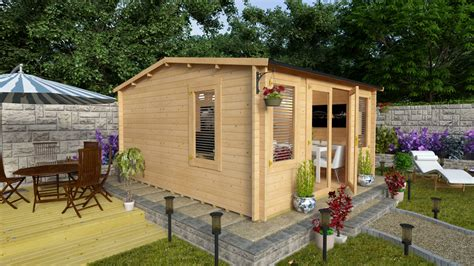 Billyoh Sheds Review by Billyoh Dorset Log Cabin Review Best Garden Buildings Uk