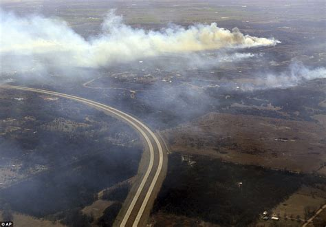 Wildfires In Kansas Oklahoma And Colorado Daily